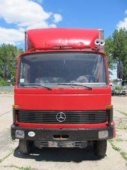 Mercedes   809 ГРУЗОВОЙ фургон /двигатель с 811/Расход топлива 12л/100км