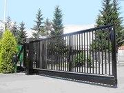 Ворота откатные (консольные),  ворота распашные,  заборы,  двери,  калитки