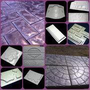 формы для производства тротуарной плитки,  забора,  камня,  проступей,  памятников