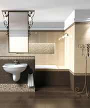 плитка для ванной комнаты новая