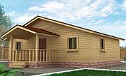 Продажа готовых домов,  бань,   дома из бруса,  коттеджи под ключ