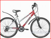 велосипед-Stels Miss 5000 ,  вело рюкзак на багажник,  вело замок с ключ
